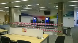 new service desk space