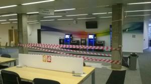 new service desk space