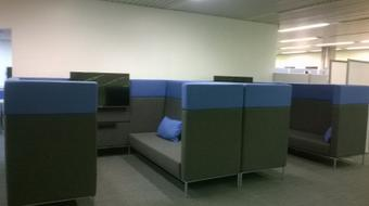 study booths
