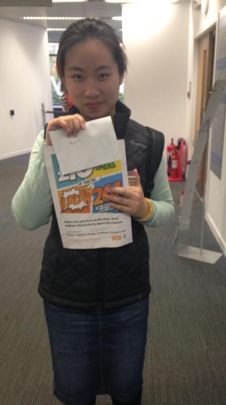 Vision Quiz Winners (Edinburgh Campus Library) (1/3)