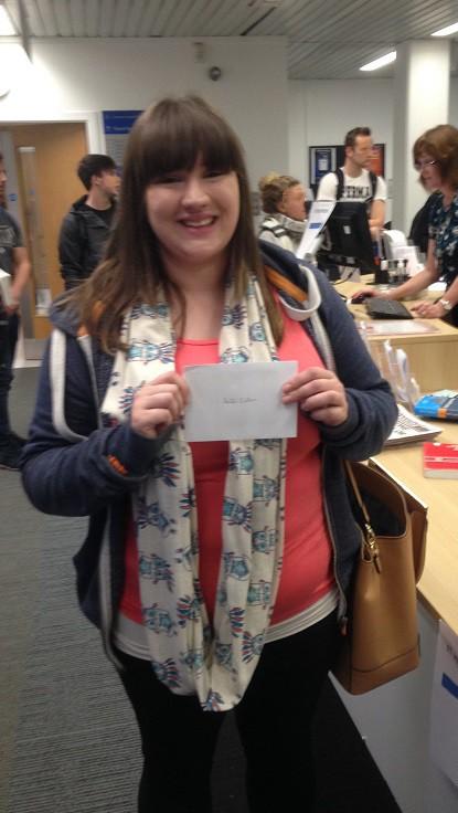 Vision Quiz Winners (Edinburgh Campus Library) (2/3)
