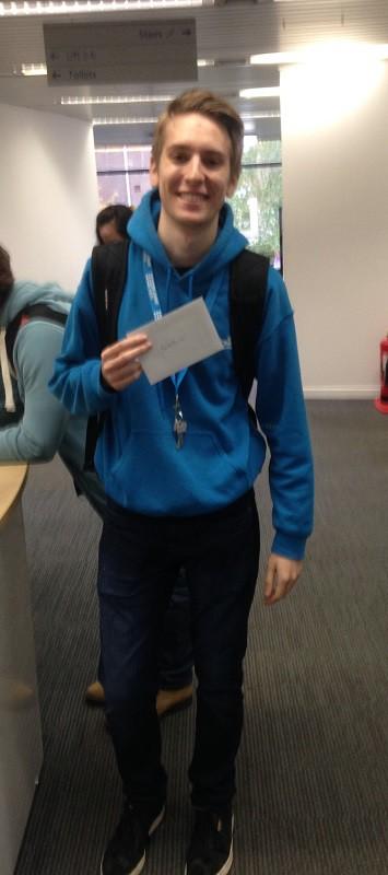 Vision Quiz Winners (Edinburgh Campus Library) (3/3)