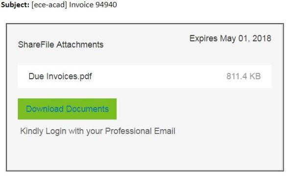 phish invoice
