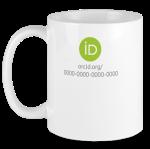 ORCID white mug
