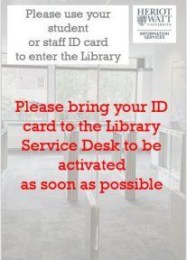 bring ID card