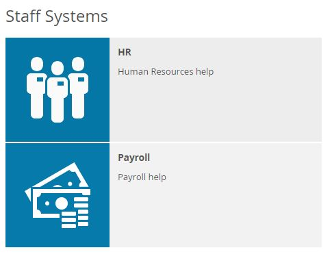 Staff systems HR Pay