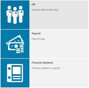 TOPdesk finance systems